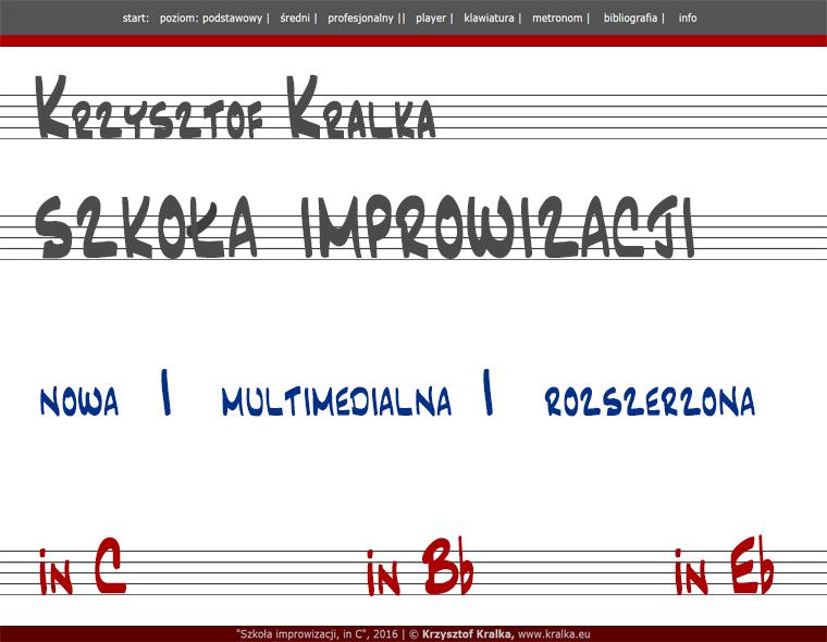 Krzysztof Kralka. Szkoła improwizacji.