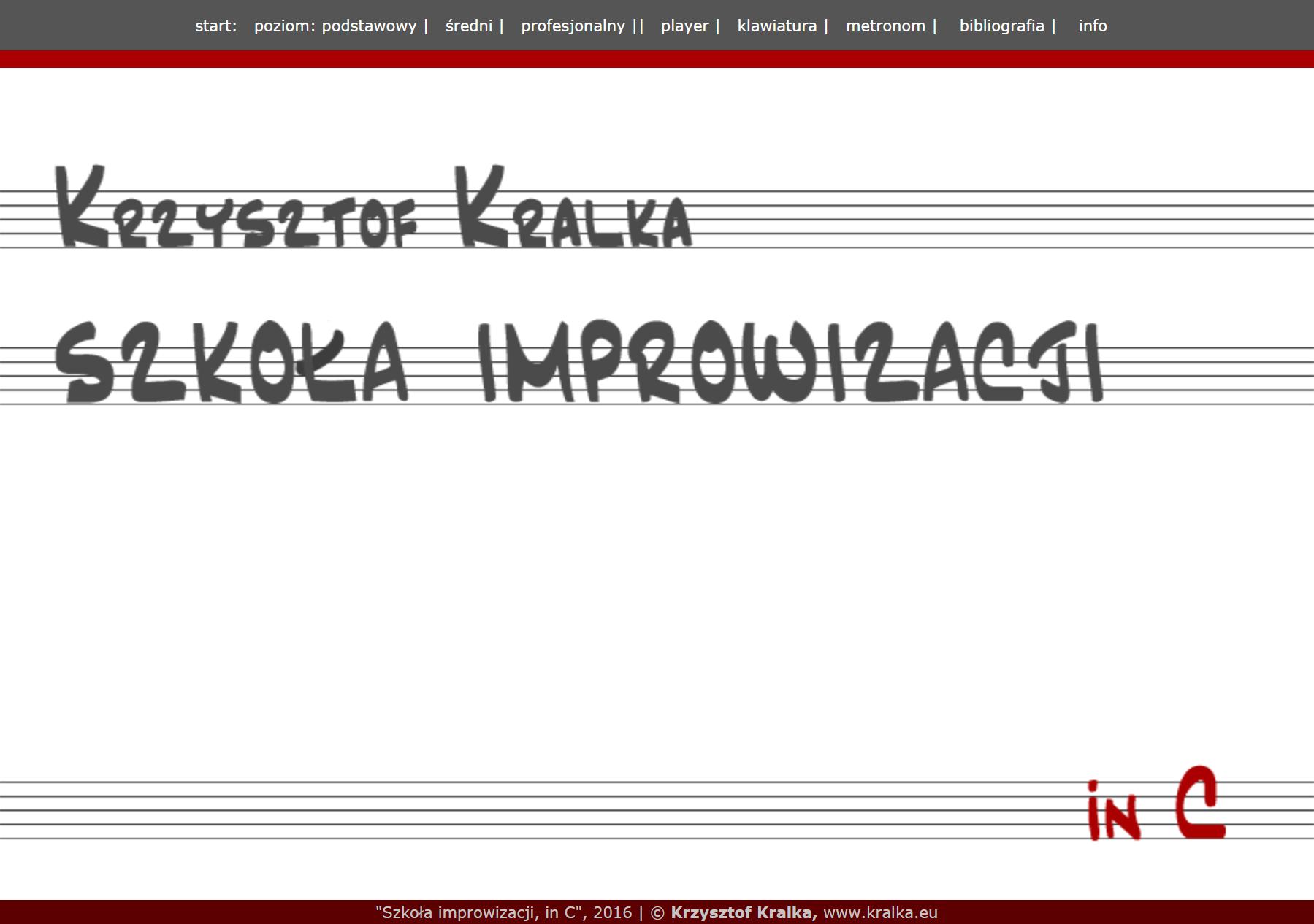 Szkoła improwizacji, inC