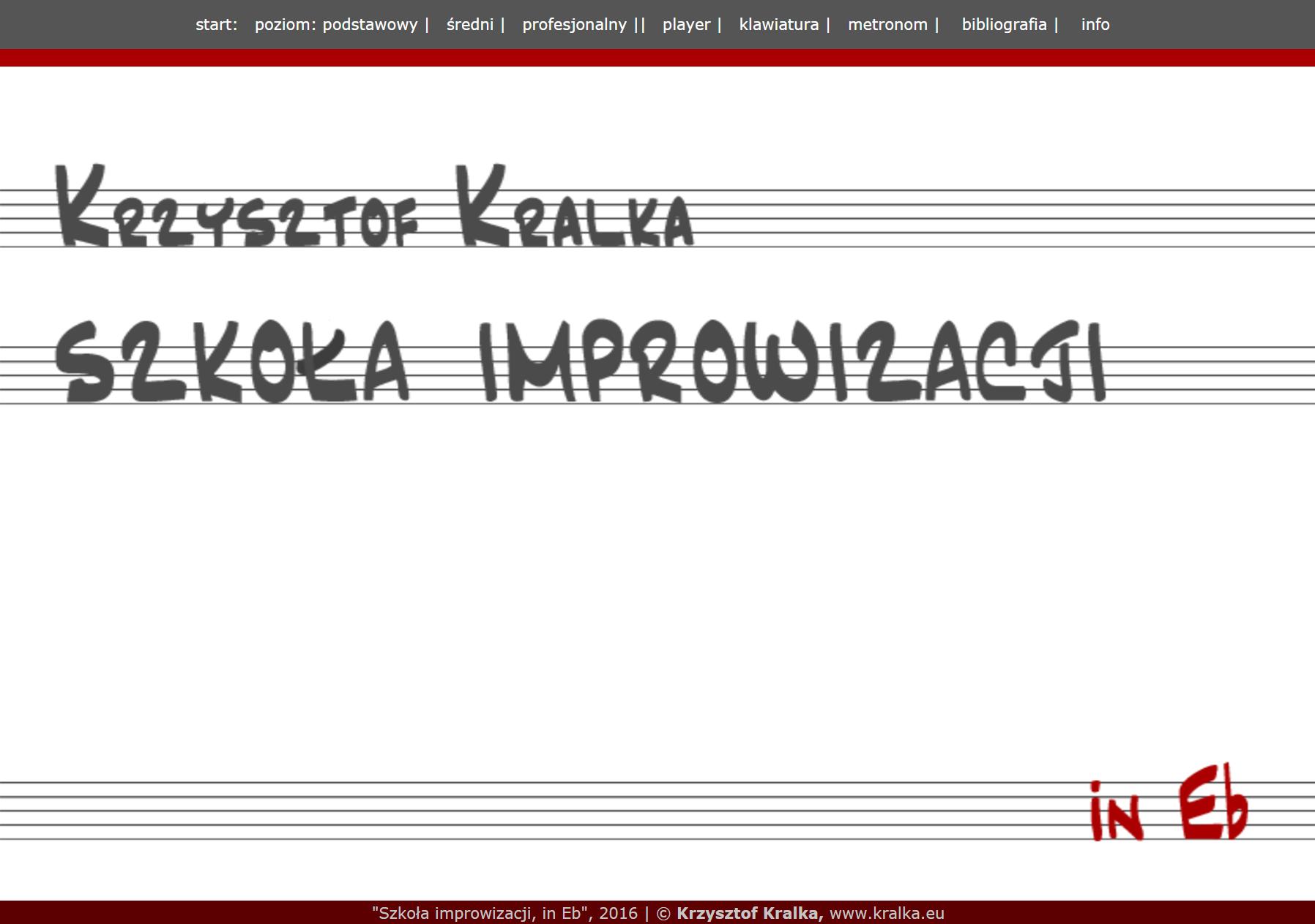 Szkoła improwizacji, inEb